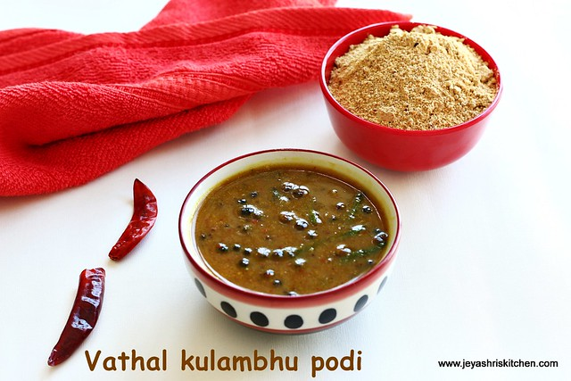 Vathal kuzhambhu- bachelor recipes