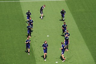 West Brom warm up 2 | by Ronnie Macdonald