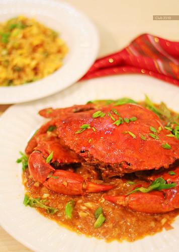 Singaporean Chili Crab