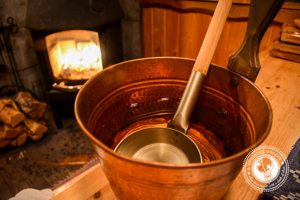 Sweating and Skinny-dipping | An evening at a Finnish Sauna - Finnish Sauna Water Bucket and Dipper