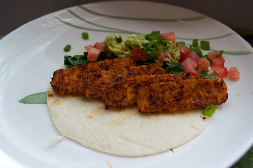 Tempeh Sofritas Side View