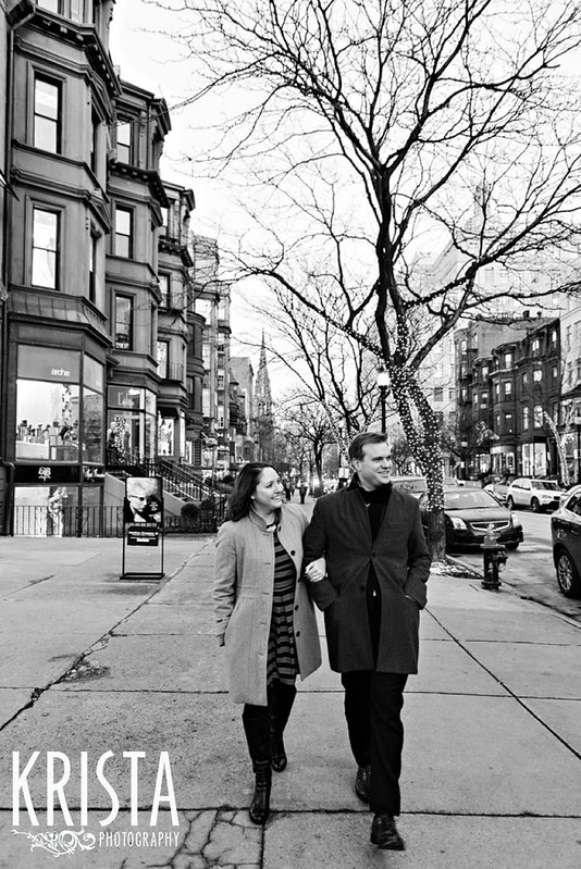 Boston Winter Engagement Session