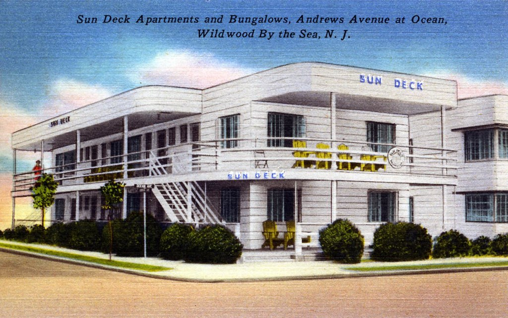 streamline sun deck apartments and bungalows, wildwood by the sea ... - Moderne Bungalows