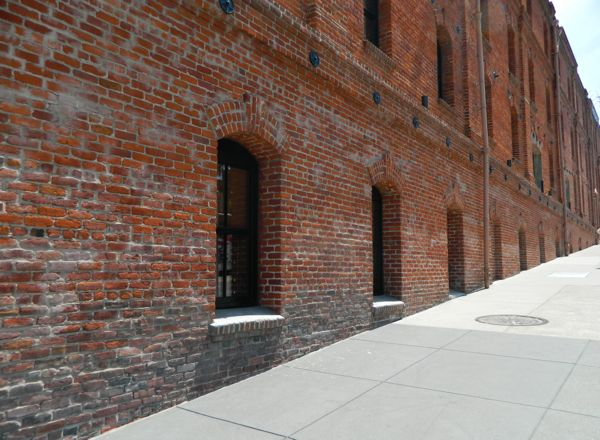 San Francisco Brick Building