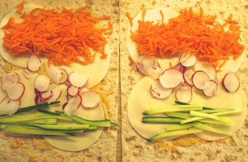 Ready to Roll Veggie Wrap