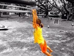 Just hanging around at Pasir Ris again on a hot and humid Saturday.