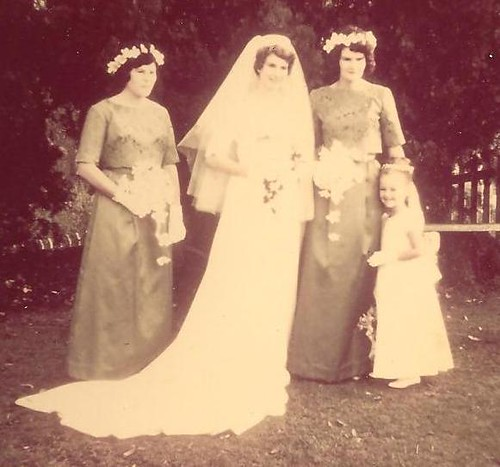 My mother's wedding 1964