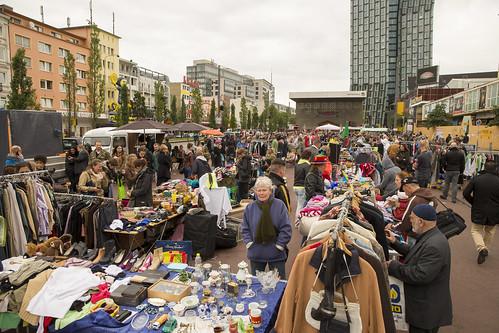 Flohmarkt auf dem Spielbudenplatz