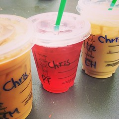 HAHAHA my manager's name is Grace  #yaletown #name #starbucks #ithappens #tea #passion #chaitealatte