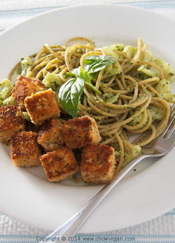 Pesto-Cauliflower Pasta