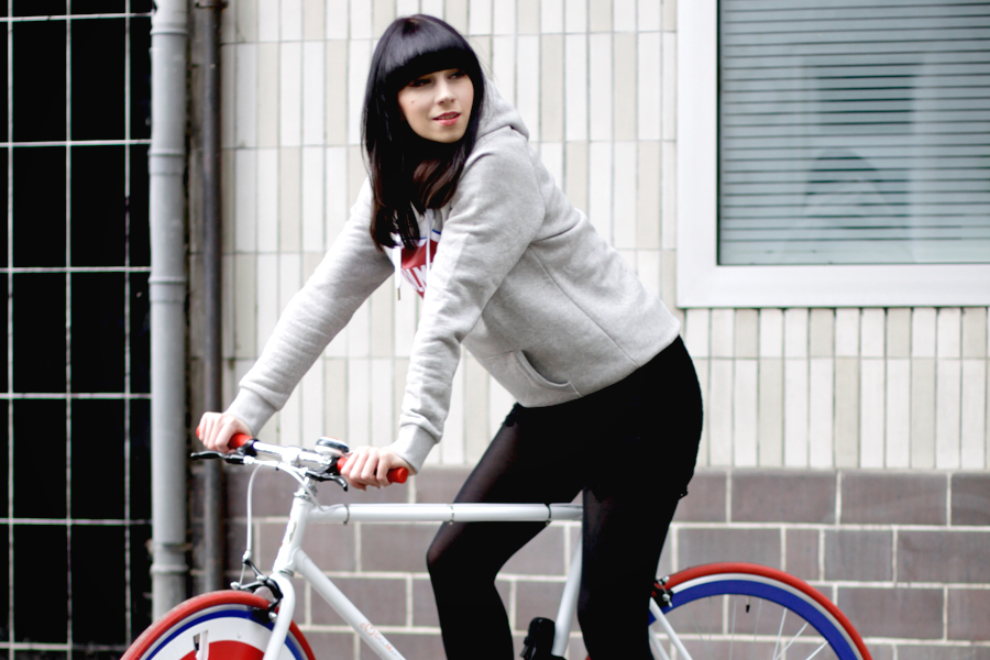 Colmar Originals Store Opening in Berlin Mitte 14.05.14 blogger Ricarda Schernus bike bicycle 4