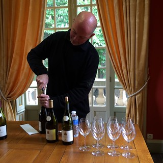 Pierre André tasting