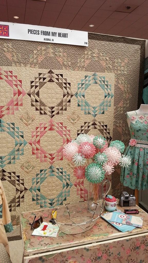 pat sloan quilt market spring 2014 Sandy Gervais