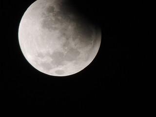 Eclipse con Luna Roja 15-04-14