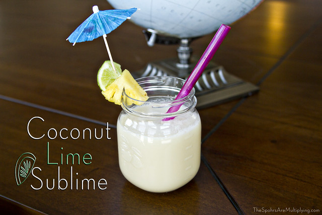 Coconut Lime Sublime + Giveaway