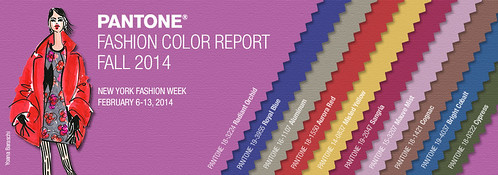 Pantone Fall 2014 Fashion Color Report
