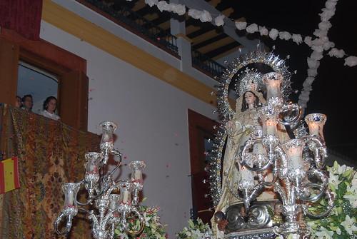 AionSur 14319920602_499ae2cf6b_d La lluvia de final de mayo no evita una bonita procesión de la Virgen de Montemayor Cultura Semana Santa