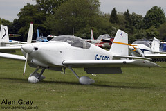 G-CSPR VAN'S RV-6A 25584 PRIVATE -Sywell-20130601-Alan Gray-IMG_9084