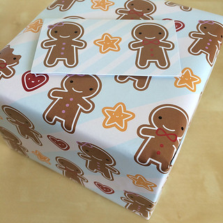 Cookie Cute wrapped gift
