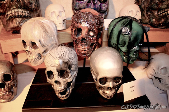 Mucklebones Halloween museum at Spooky Empire May-Hem 2014