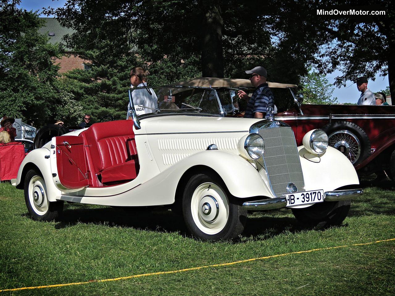 Classic Mercedes Roadster