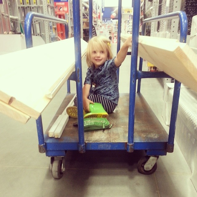 Lowes for some lumber. #doorbookcaseproject