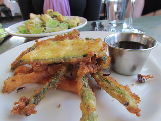 Ginger Beer Tempura at Cafe Flora