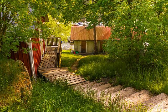 Houses At Klubbensborg H Gersten Stockholm Sweden