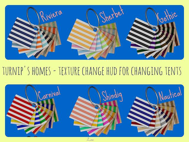 Change Tent Texture Change