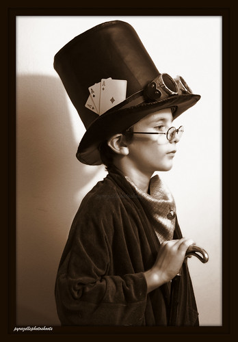 Steampunk child