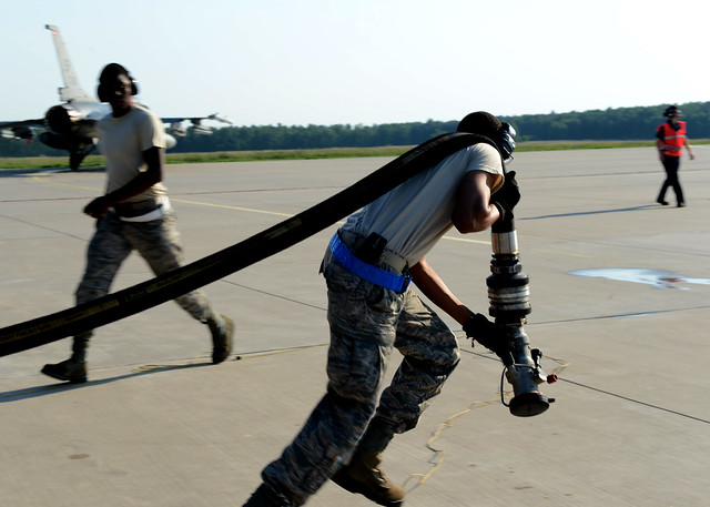 US Airmen support combined exercises with NATO
