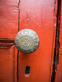 Saint Thomas Door Knob