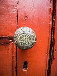 Saint Thomas Door Knob