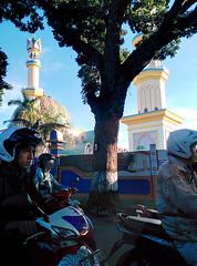 mosque under construction