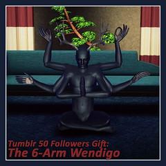 Six Armed Wendigo