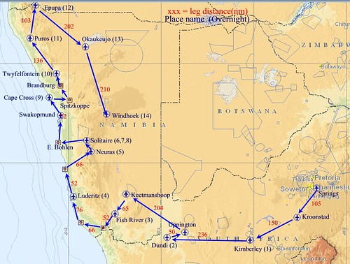 Namibia Air Trek 05-08-14
