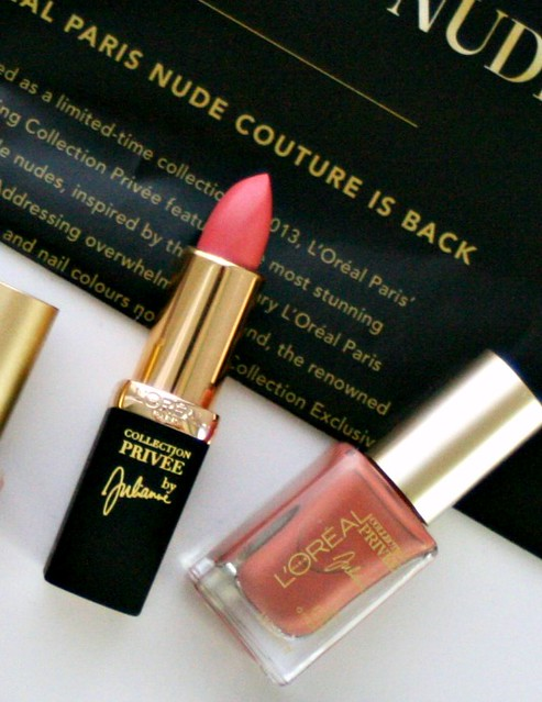 l'Oreal nude collection julianne, lipsticks, nail polish, limited collection