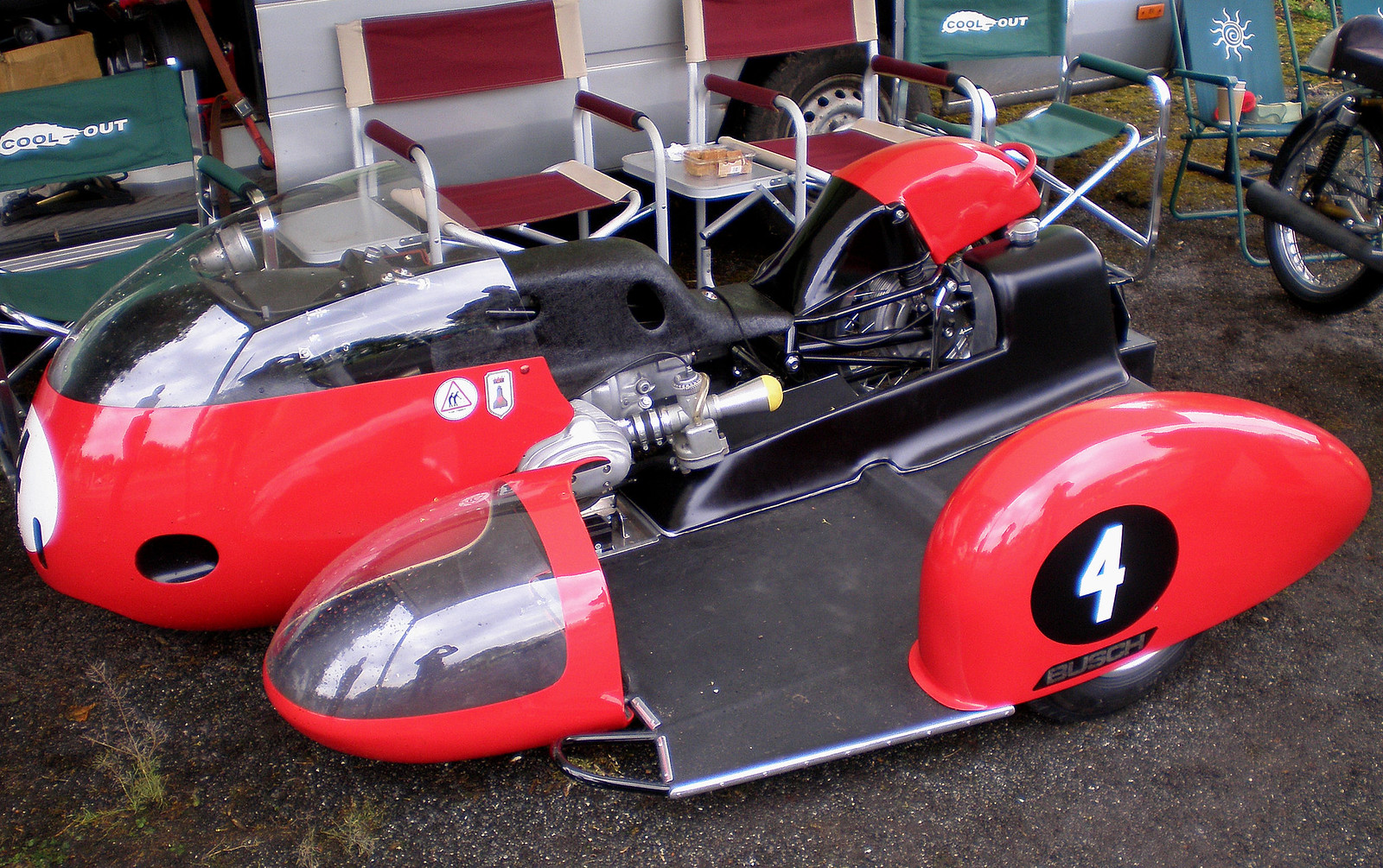 The Amazo Effect June 2014 Champion Sidecar Wiring Diagram Bmw Busch With A 500cc Flat Twin In 1960s Early 1970s German Companys Horizontally Opposed Twins Dominated World Championship