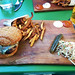 The Harbord Room - the burger and fries
