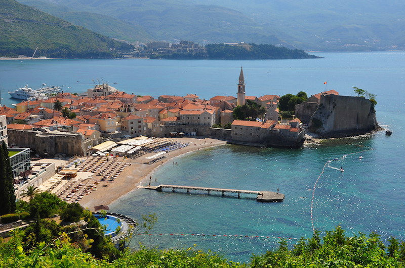 Old Town Budva, Adriatic Sea Coast
