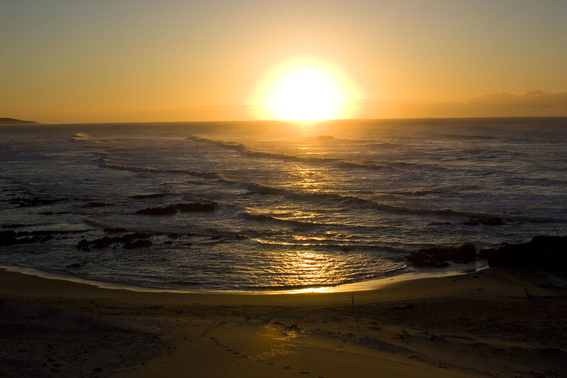 Sunrise over Bulungula