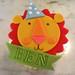 Jumbo Circus cupcake - <span>©CupCakeBite www.cupcakebite.com</span>