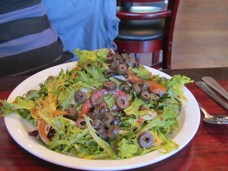 Greek Salad at Hungry Tiger Too