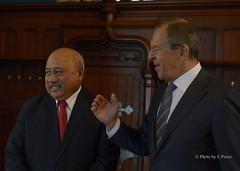Переговоры С.Лаврова c И.Кубуаболой