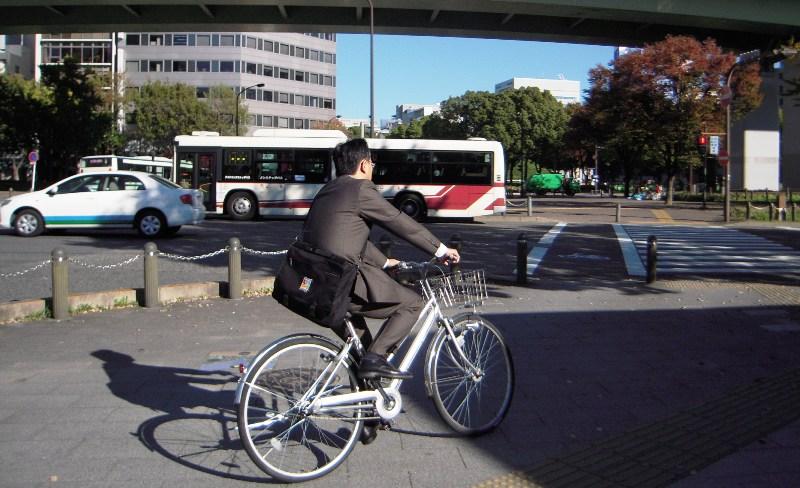 Велосипед в Японии