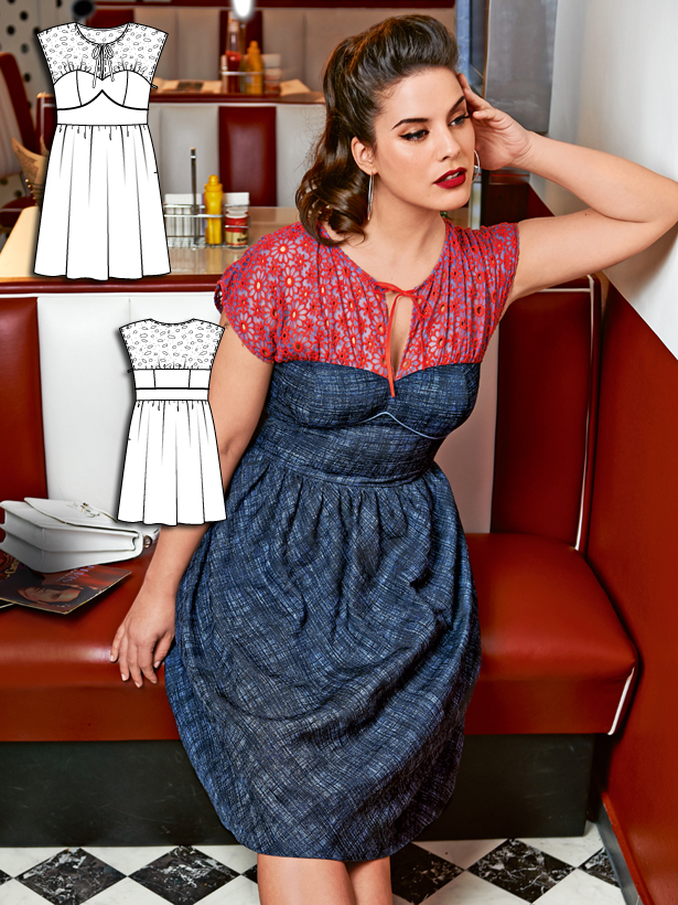 Soda Fountain 6 New Plus Size Sewing Patterns Sewing Blog