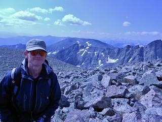 Marshall Ascending Holy Cross Ridge