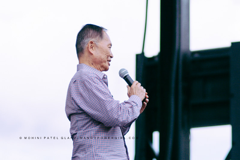 george takei thanking seattle for 40 yrs of LGBT pride