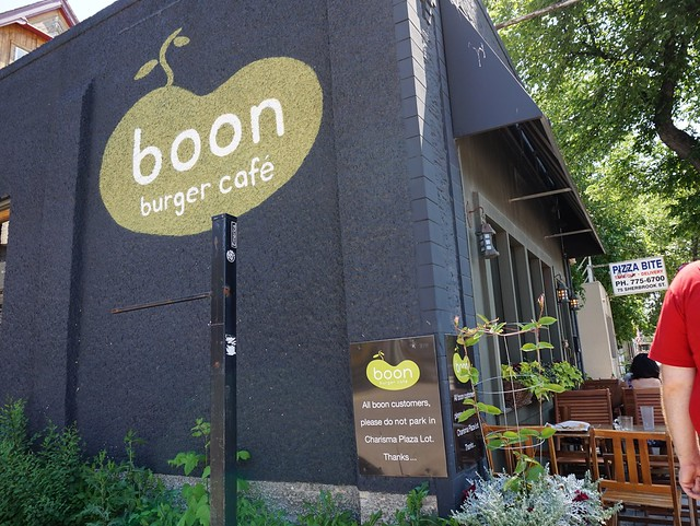 Boon Burger on Sherbrook St
