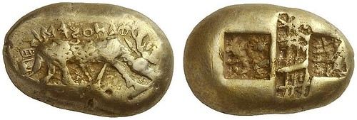 252 – Phanes (Ephesos / Ionia). Electrum stater